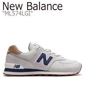 fe7a211604913 中古 ニューバランス 574 ベージュ スニーカー New Balance メンズ New Balance 574 ニューバランス574 Beige  ML574LGI NBPD9S412A シューズ 【中古】未使用品