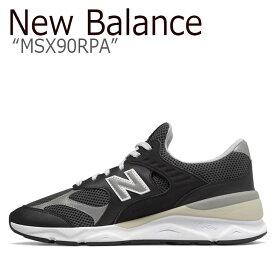 ニューバランス X-90 スニーカー New Balance メンズ レディース MSX 90 RPA New BalanceX-90 NAVY ネイビー MSX90RPA シューズ 【中古】未使用品