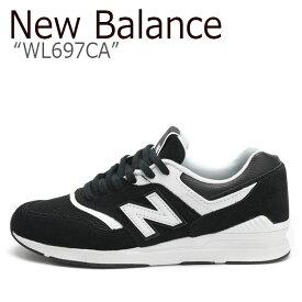 d8456b6fcce98 ニューバランス 697 スニーカー New Balance メンズ レディース WL 697 CA New Balance697 BLACK ブラック  WL697CA シューズ