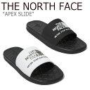 ノースフェイス スリッパ THE NORTH FACE メンズ レディース APEX SLIDE EX エイペッ...