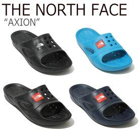 ノースフェイス スリッパ THE NORTH FACE メンズ レディース AXION エックスオン BLACK NAVY BLUE ブラック ネイビー ブルー NS98K49A/B/C/J/K/L/S シューズ 【中古】未使用品