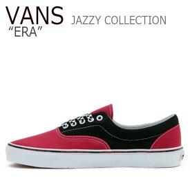 バンズ エラ スニーカー VANS メンズ レディース JAZZY COLLECTION ERA ジャジー コレクション エラ PINK ピンク VN0A38FRS1S1 シューズ