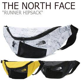 ノースフェイス ウエストバッグ THE NORTH FACE メンズ レディース RUNNER HIPSACK ランナー ヒップサック ホワイト イエロー ブラック WHITE YELLOW BLACK NN2HK05A/B/C バッグ 【中古】未使用品