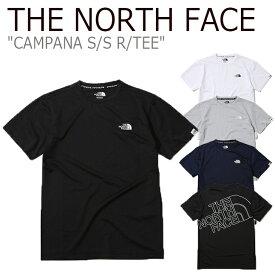 ノースフェイス Tシャツ THE NORTH FACE メンズ レディース CAMPANA S/S R/TEE カンパーナ ショートスリーブT 半袖 NT7UK06J/K/L/M ウェア 【中古】未使用品