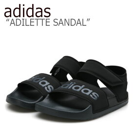 アディダス サンダル adidas メンズ レディース ADILETTE SANDAL アディレット サンダル BLACK ブラック F35417 シューズ 【中古】未使用品