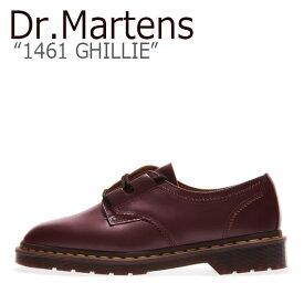 ドクターマーチン 3ホール Dr.Martens メンズ レディース 1461 GHILLIE ギリー OXBLOOD オックスブラッド 22695601 シューズ 【中古】未使用品