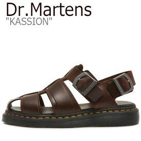 ドクターマーチン サンダル Dr.Martens メンズ レディース KASSION カシオン BROWN ブラウン 24629211 シューズ 【中古】未使用品