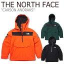 ノースフェイス ジャケット THE NORTH FACE メンズ レディース CARSON ANORAK カーソン アノラック ボックスロゴ ORAN…