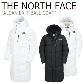 ノースフェイス ロングコート THE NORTH FACE メンズ レディース ALCAN EX T-BALL COAT アルカン EX ティーボール コート BLACK ブラック WHITE ホワイト NC3NK51J/K ウェア 【中古】未使用品