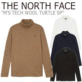 ノースフェイス タートルネック THE NORTH FACE メンズ M'S TECH WOOL TURTLE SP テック ウール タートルSP 全4色 NI7XK50A/B/C/D ウェア 【中古】未使用品