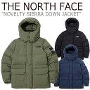 ノースフェイス ダウン THE NORTH FACE メンズ レディース NOVELTY SIERRA DOWN JACKET ノベルティー シエラ ダウンジャケット 全3色 NJ1DK52J/K/L
