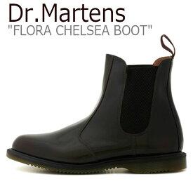 ドクターマーチン スニーカー Dr.Martens メンズ レディース FLORA CHELSEA BOOT フローラ チェルシー ブーツ BLACK ブラック 14650601 シューズ 【中古】未使用品