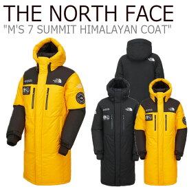 ノースフェイス ダウン THE NORTH FACE メンズ レディース M'S 7 SUMMIT HIMALAYAN COAT セブンサミット ヒマラヤン コート BLACK ブラック GOLD YELLOW ゴールド イエロー NC1DK71A/B ウェア 【中古】未使用品
