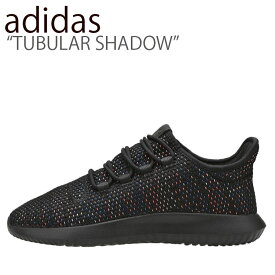 アディダス スニーカー adidas メンズ レディース TUBULAR SHADOW チューブラー シャドウ BLACK ブラック AQ1091 シューズ 【中古】未使用品