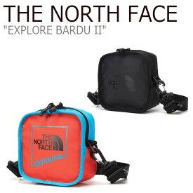 ノースフェイス サコッシュ THE NORTH FACE メンズ レディース EXPLORE BARDU II エクスプロー バード II RED レッド BLACK ブラック NN2PL31A/C バッグ 【中古】未使用品