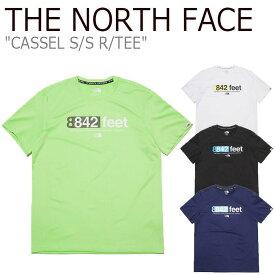 ノースフェイス Tシャツ THE NORTH FACE メンズ レディース CASSEL S/S R/TEE カッセル ショートスリーブ ラウンドTEE 全4色 NT7UL05J/K/L/M ウェア 【中古】未使用品