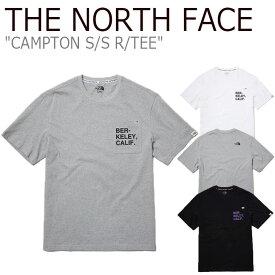 ノースフェイス Tシャツ THE NORTH FACE メンズ レディース CAMPTON S/S R/TEE キャンプトン ショートスリーブ ラウンドTEE 全3色 NT7UL19J/K/L ウェア 【中古】未使用品