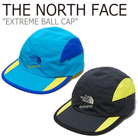 ノースフェイス キャップ THE NORTH FACE メンズ レディース EXTREME BALL CAP エクストリーム ボールキャップ BLUE ブルー BLACK ブラック NE3CL35A/B ACC 【中古】未使用品