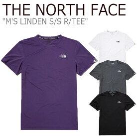 ノースフェイス Tシャツ THE NORTH FACE メンズ M'S LINDEN S/S R/TEE リンデン ショートスリーブ ラウンドTEE 全4色 NT7UL07K/L/M/N ウェア 【中古】未使用品