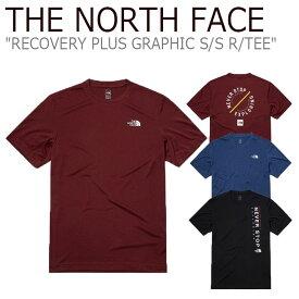 ノースフェイス Tシャツ THE NORTH FACE メンズ レディース RECOVERY PLUS GRAPHIC S/S R/TEE リカバリー プラス グラフィック ショートスリーブ ラウンドTEE 全3色 NT7UL14A/B/C ウェア 【中古】未使用品