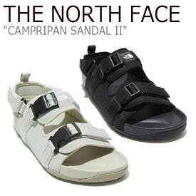 ノースフェイス サンダル THE NORTH FACE メンズ レディース CAMPRIPAN SANDAL II キャンプリパン サンダル II BLACK ブラック SAND サンド NS98L19A/J/K シューズ 【中古】未使用品