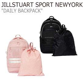 ジルスチュアート スポーツ ニューヨーク リュック JILLSTUART SPORT NEWYORK メンズ レディース DAILY BACKPACK デイリー バックパック BLACK ブラック PINK ピンク JEBA9E155P4/BK バッグ