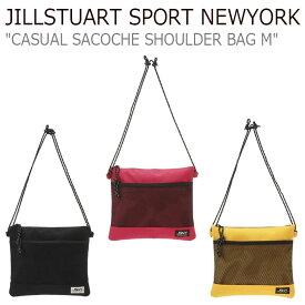 ジルスチュアート スポーツ ニューヨーク ボディーバッグ JILLSTUART SPORT NEWYORK メンズ レディース CASUAL SACOCHE SHOULDER BAG M カジュアル サコッシュ ショルダーバッグ 全3色 JEBA9E164P2/BK/Y2 バッグ