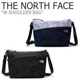 ノースフェイス クロスバッグ THE NORTH FACE メンズ レディース W SHOULDER BAG ショルダーバッグ BLACK ブラック BLOSSOM ブロッサム NN2PL06A/B バッグ 【中古】未使用品