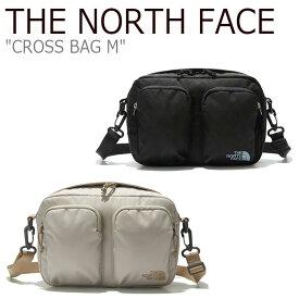 ノースフェイス ボディーバッグ THE NORTH FACE メンズ レディース CROSS BAG M クロスバッグ BEIGE ベージュ BLACK ブラック NN2PL09A/B バッグ 【中古】未使用品