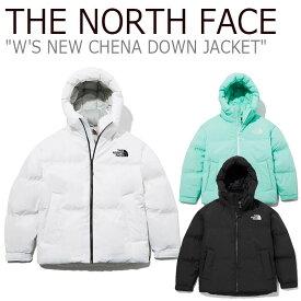 ノースフェイス ダウン THE NORTH FACE レディース W'S NEW CHENA DOWN JACKET ニュー チェナ ダウン ジャケット BLACK ブラック WHITE ホワイト MINT ミント NJ1DL80J/K/L ウェア 【中古】未使用品