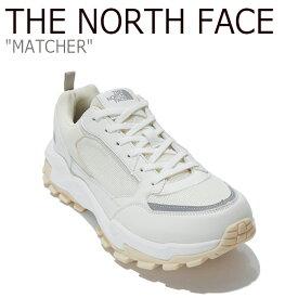 ノースフェイス スニーカー THE NORTH FACE メンズ レディース MATCHER マッチャ WHITE ホワイト NS93L82A シューズ 【中古】未使用品