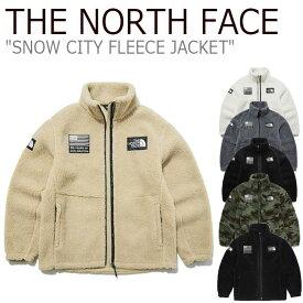 フリース ノースフェイス THE NORTH FACE メンズ レディース SNOW CITY FLEECE JKT スノー シティー フリース ジャケット BLACK ブラック GOLD BEIGE ベージュ IVORY アイボリー MELANGE GREY グレー KHAKI カーキ NN4FL51A/B/C/D/E/F NN4FL54A/B/D ウェア 【中古】未使用品