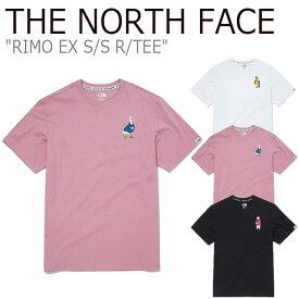 ノースフェイス Tシャツ THE NORTH FACE メンズ レディース RIMO EX S/S R/TEE リモ EX ショートスリーブ ラウンドTEE BLACK ブラック WHITE ホワイト PINK ピンク NT7UM16J/K/L ウェア 【中古】未使用品