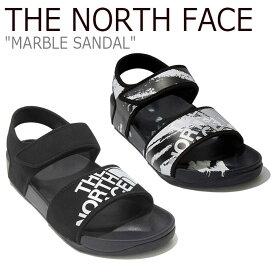 ノースフェイス サンダル THE NORTH FACE メンズ レディース MARBLE SANDAL マーブルサンダル BLACK ブラック BLACK CAMOUFLAGE ブラックカモフラージュ NS98L20A/B シューズ 【中古】未使用品