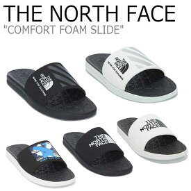 ノースフェイス サンダル THE NORTH FACE メンズ レディース COMFORT FOAM SLIDE コンフォート フォーム スライド 全5色 NS98M02A/B/C/J/K シューズ 【中古】未使用品
