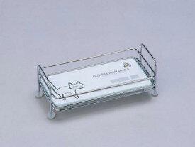 強化ガラス製スパイストレーS レンガ柄A.S.Manhattaner's