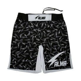 ALMA アルマ THUNDER サンダー ファイトショーツ L 黒 ALP3-L-BK【送料無料】