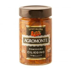 アグロモンテ セミドライトマト オイル漬け チェリートマト 200g 12個セット 5221【送料無料】