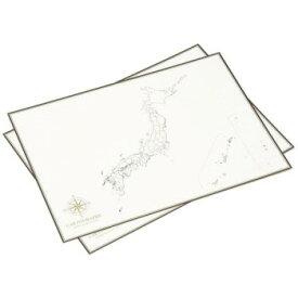 大人の白地図 カルトグラフィー ポスター・A3サイズ 日本 5枚入×3セット CG-A3J【送料無料】