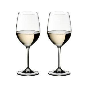 白 ペア 辛口リーデル ヴィノム ウィオニエ/シャルドネ ワイングラス 350cc 6416/5 2脚セット 708【送料無料】