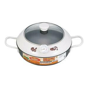 フライ 鉄製 料理エコルタ IH対応温度計付フライドパン22cm ER-9534【送料無料】