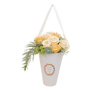 プレゼント 装飾 造花SAVON FLOWER ジェマ S-114 オレンジ【送料無料】