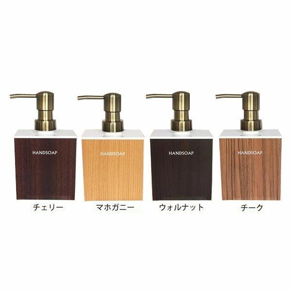 日本製 WOODY(ウッディ) 泡タイプ ディスペンサー詰め替えボトル(泡ハンドソープ)白ベース(400ml)