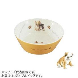 ドッグフード 食器 犬わんコレ カラーフードボウル(小) ブルドッグ new-fb4-S34【送料無料】