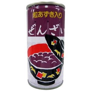 控え目 あずき しるこプラム食品 ぜんざい缶ドリンク 190g×30缶 【送料無料】
