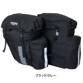 KONNIX リアパニアバッグ46 BK/GY 5813【送料無料】