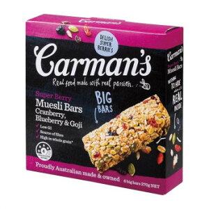 カーマンズ 6Pスーパーベリー ミューズリーバー 45g×6 6個セット M6-01【送料無料】