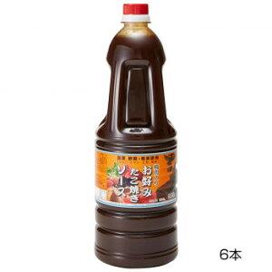 和泉食品 タカワお好みたこ焼きソース(濃厚) 甘口 1.8L(6本)【送料無料】