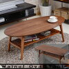Wall nut table folding table w Center table simple Walnut oval oval square rectangular living table folding tables