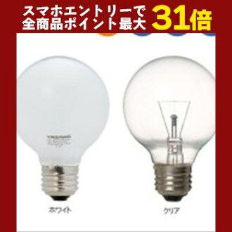 YAZAWA (Yazawa Corporation) longer life ball electric bulb 40W form Φ 70mm